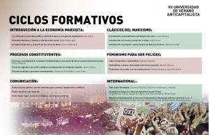 Ciclos formativos Universidad Verano 2016