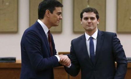 PSOE-C's: acuerdo contra los derechos sociales
