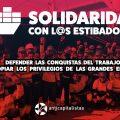 Comunicado de apoyo a los trabajadores y trabajadoras de la estiba.